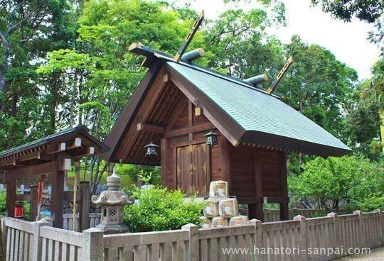 天石門別神社の社殿