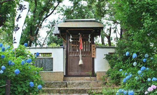上宮天満宮摂社の野見神社