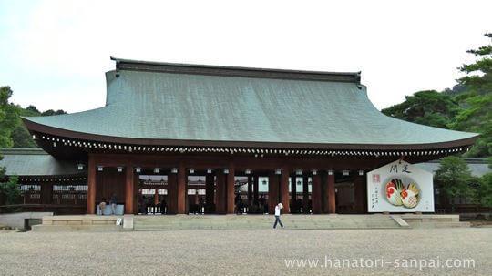 橿原神宮の拝殿