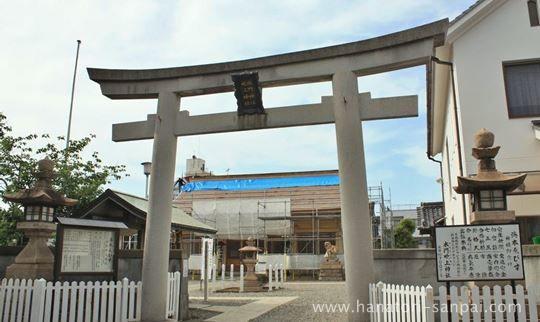 和歌山の水門吹上神社