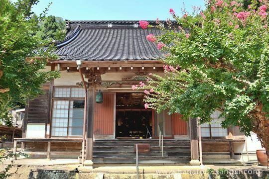 佛谷寺の本堂