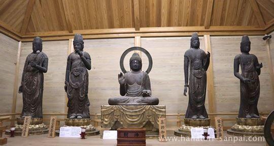 佛谷寺の仏像