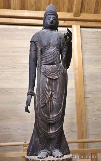 佛谷寺の日光菩薩
