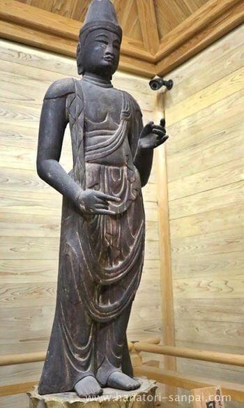 佛谷寺の月光菩薩