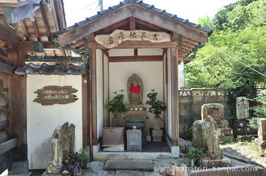 佛谷寺の吉三の墓