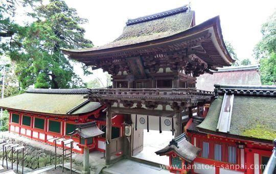 石上神宮の楼門