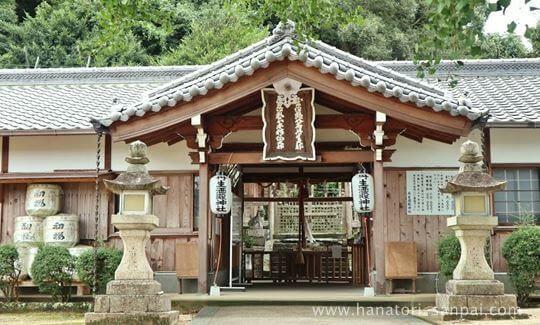 丹生酒殿神社の拝殿