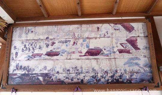 丹生酒殿神社の奉納絵馬