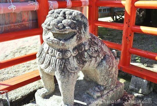 龍田大社の狛犬