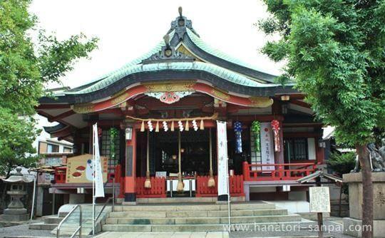阿倍王子神社の本殿
