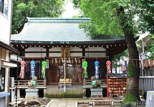 大阪の安倍晴明神社の本殿