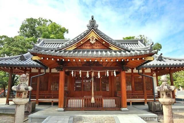 奈良の津島神社