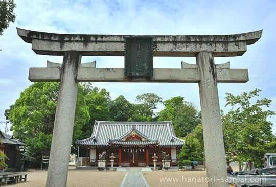 津島神社の鳥居