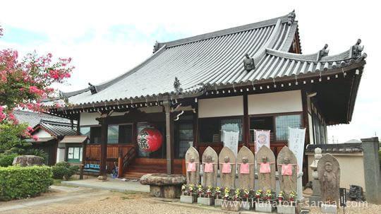 安養寺の本堂