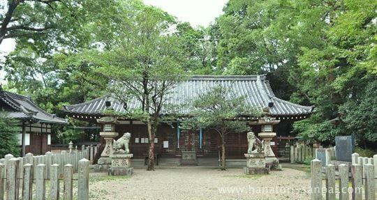 鏡作坐天照御魂神社の拝殿