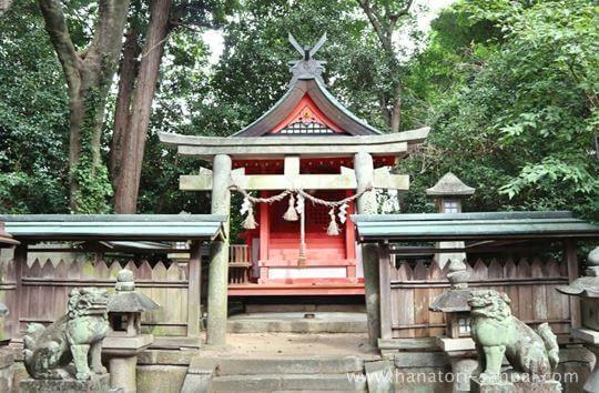 鏡作坐天照御魂神社の若宮神社