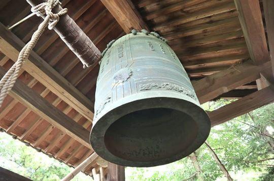 鏡作坐天照御魂神社の鐘
