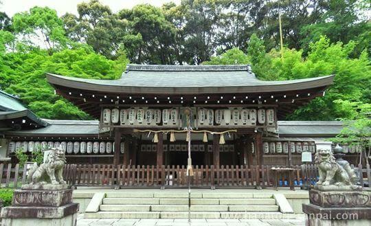 熊野若王子神社の社殿