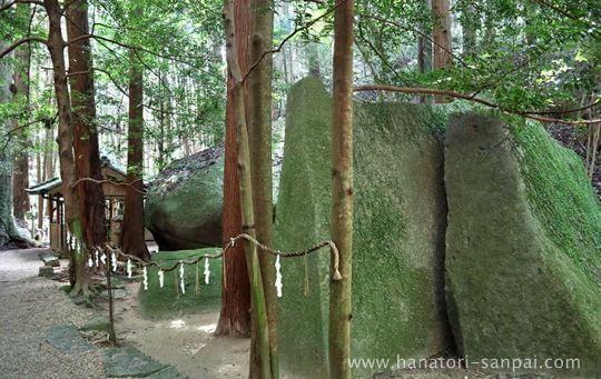 天石立神社の御神体