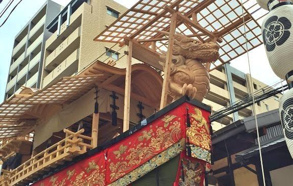 祇園祭大船鉾の龍頭
