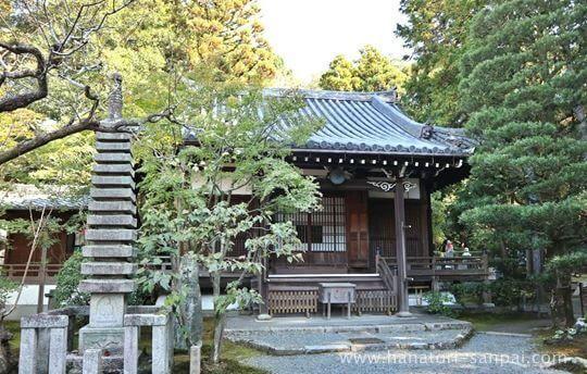 京都の新善光寺の本堂