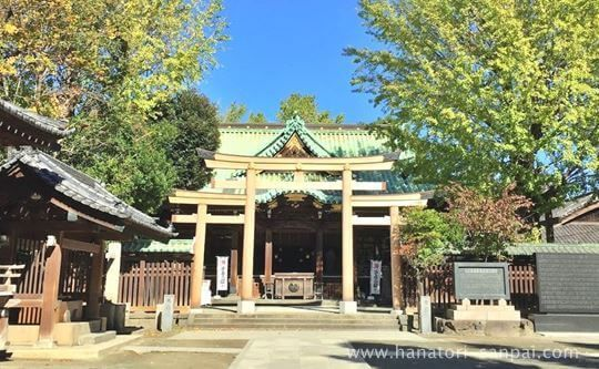 牛嶋神社の境内
