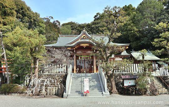 狭山神社の社殿