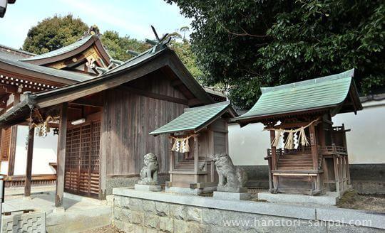 狭山神社の境内にある戎神社