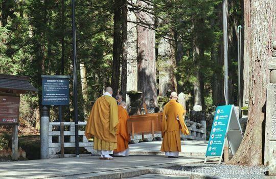 高野山奥之院の生身供の儀式