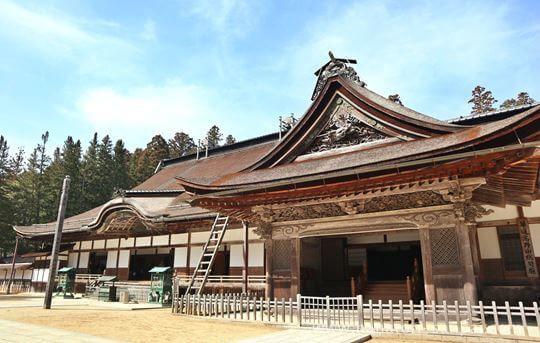 高野山金剛峯寺の主殿