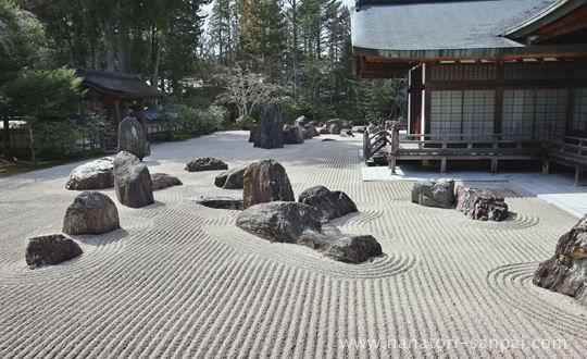 高野山金剛峯寺の石庭