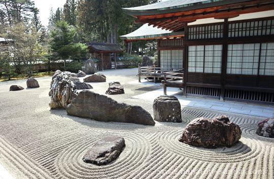 高野山金剛峯寺の蟠龍庭