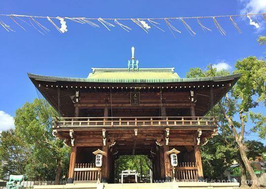 大阪の石切劔箭神社