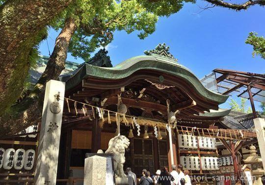 石切劔箭神社の社殿