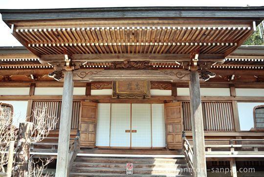 高野山恵光院の本堂