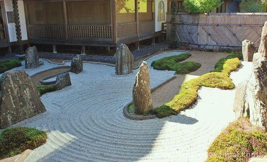 高野山福智院の庭