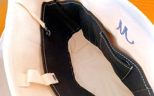 ランズエンドのトートバッグの内側ポケット