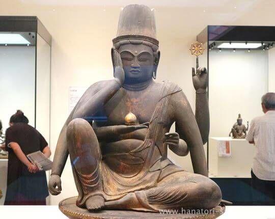 特別展奈良博三昧の如意輪観音坐像