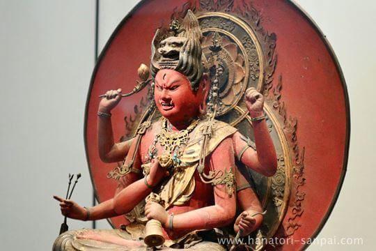 特別展奈良博三昧の愛染明王坐像