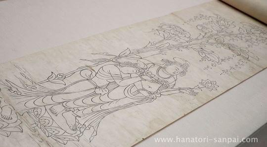 特別展奈良博三昧の東大寺戒壇院厨子扉絵図像