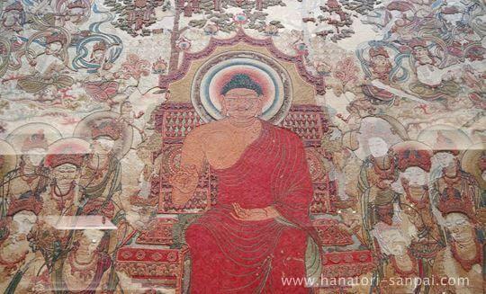 特別展奈良博三昧の刺繍釈迦如来説法