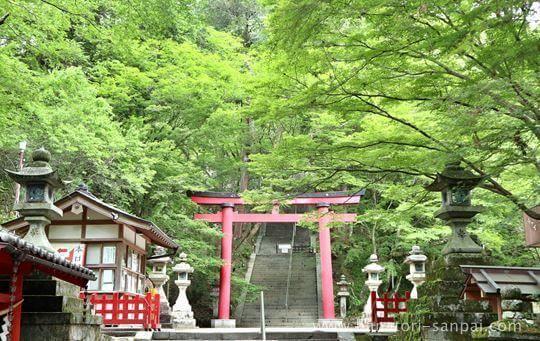 談山神社の正面入り口