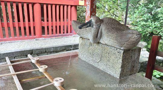 談山神社の手水舎