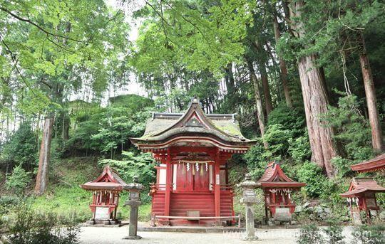 談山神社の末社の比叡神社
