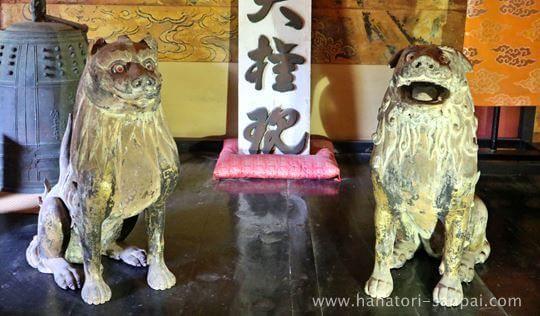 談山神社の狛犬