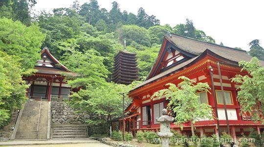 談山神社の境内