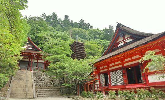 談山神社の境内の社殿