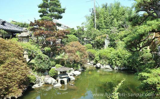 おふさ観音の日本庭園