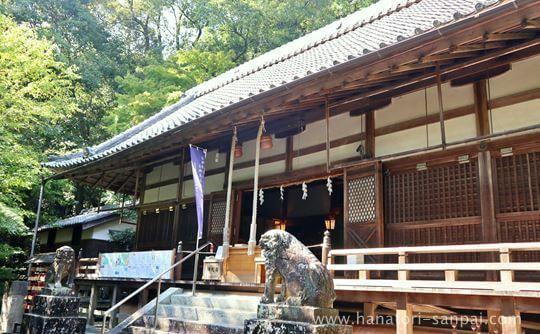 葛木坐火雷神社の拝殿