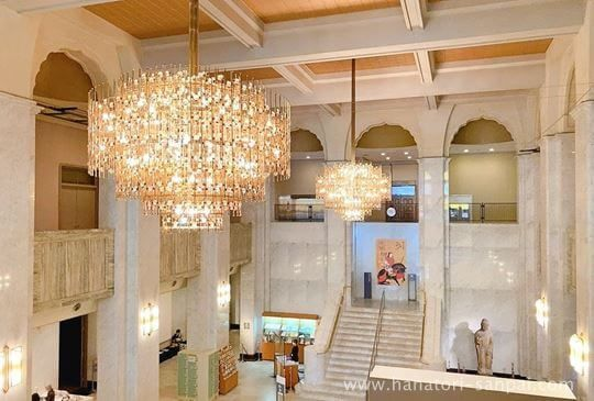 大阪市立美術館のエントランスホール